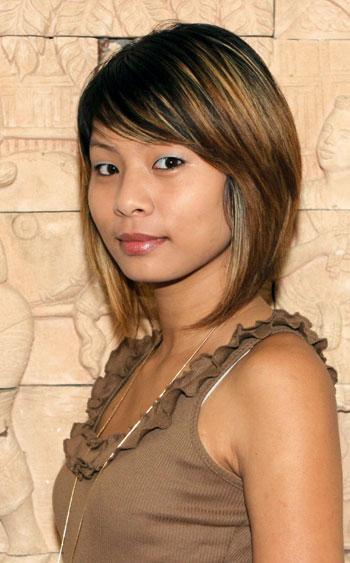 hübsche thailändische Mädchen